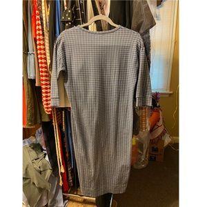 Dresses & Skirts - Blue & White Checkered Dress
